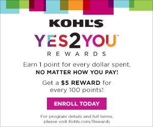 kohls yes2you awards program